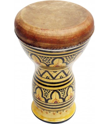 Ceramic Darbuka Glazed Design