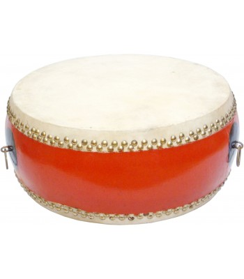 Chinese Temple Drums Shallow Double Sided