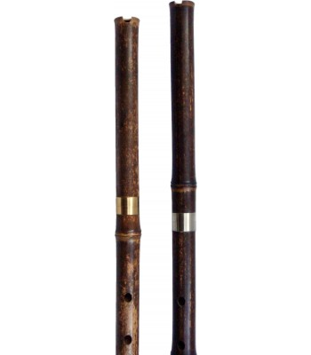 Pro Low Tuneable Vertical Bamboo Flute - Tung Xiao Keys C, D